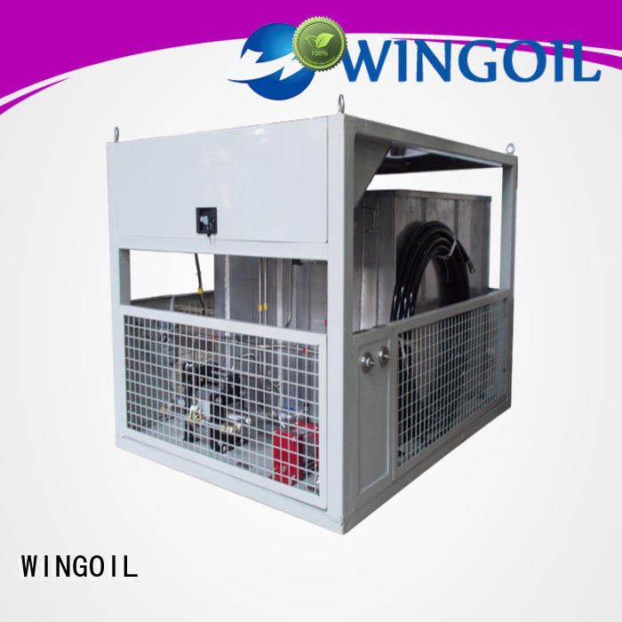 Wingoil hose pressure testing equipment in high-pressure For Gas Industry