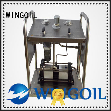 hydrostatic pressure test pump widely used for onshore
