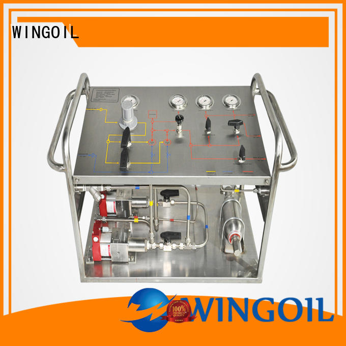Wingoil Top chemical delivery system in high-pressure for onshore