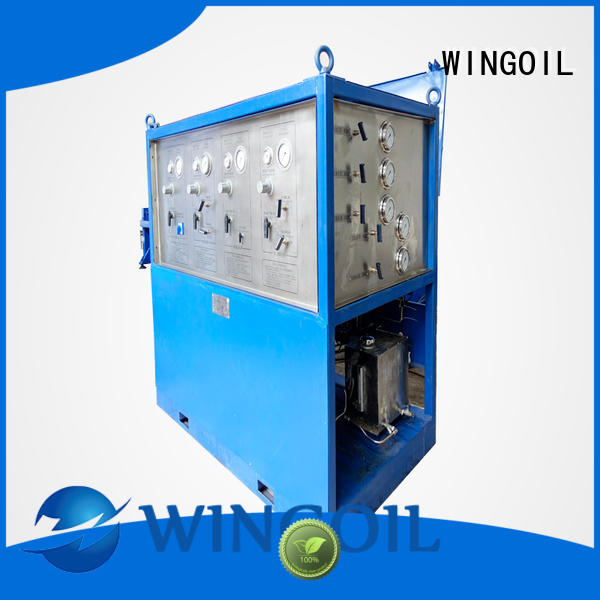 duct pressure testing equipment For Gas Industry
