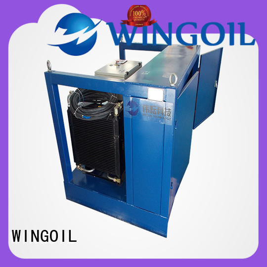 Wingoil hydro testing of pipelines procedures company for onshore