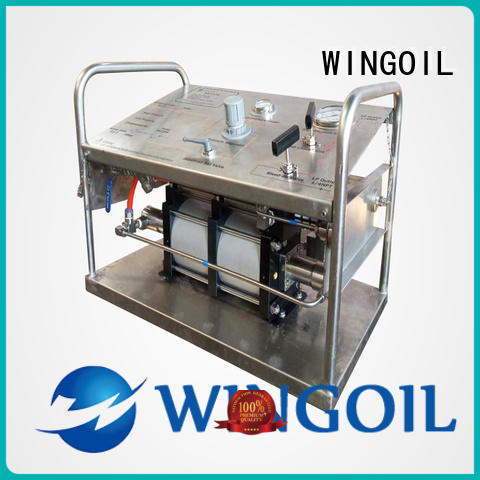 Wingoil hydrostatic pump With unrivaled expertise For Oil Industry
