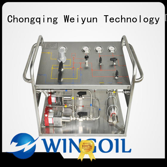 chemical Chemical Injection System in high-pressure for onshore