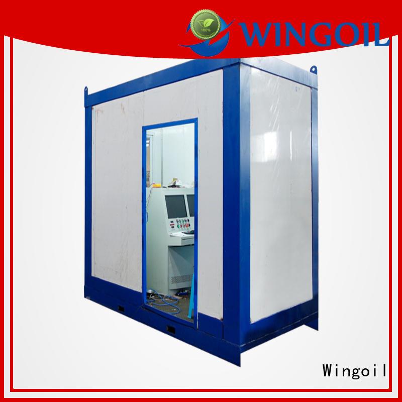 Wingoil Custom pneumatic test vs hydrotest infinitely for onshore