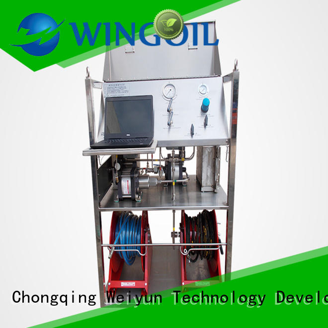 Hydro water line pressure testing equipment For Gas Industry