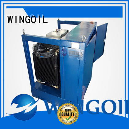 Wingoil pipeline pressure testing equipment With Flow Meter for offshore