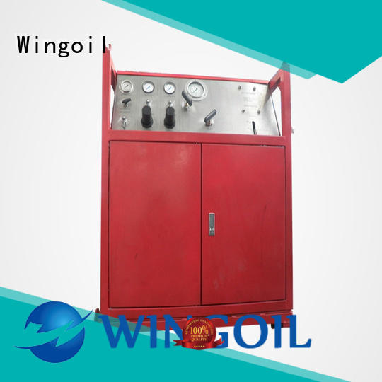 Wingoil Hydro water pressure testing equipment company For Oil Industry