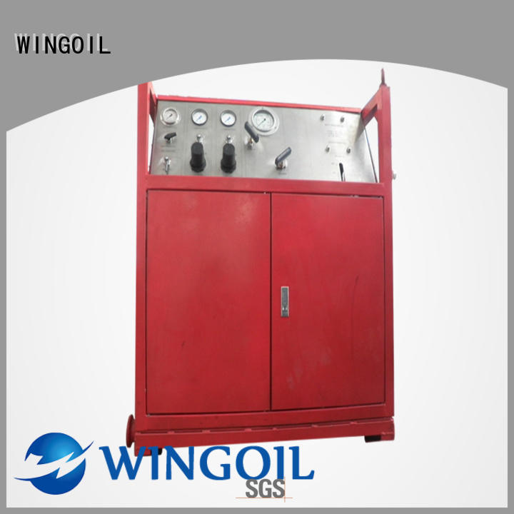 duct pressure testing equipment infinitely For Gas Industry