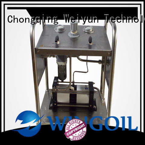 Wingoil hydrostatic test pump for sale Supply for offshore