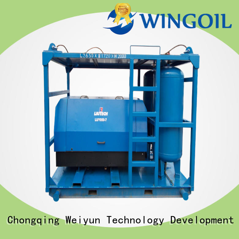 Wingoil pneumatic hose pressure testing equipment With unrivaled expertise For Gas Industry