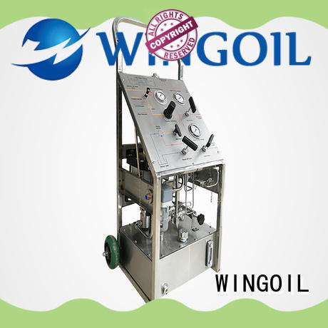 hydrostatic hydrostatic pressure test pump With unrivaled expertise for offshore