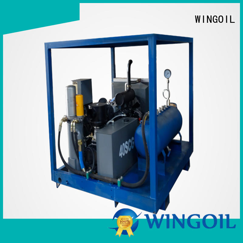 tube pressure testing equipment With Flow Meter for onshore