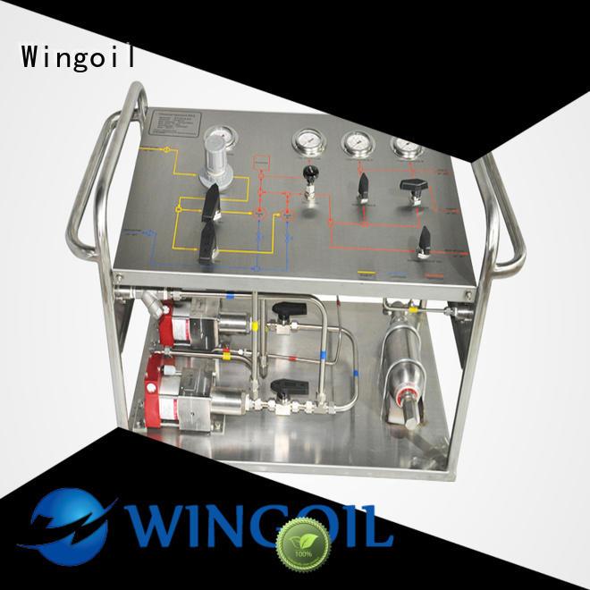 popular hydrostatic pressure pump infinitely For Gas Industry