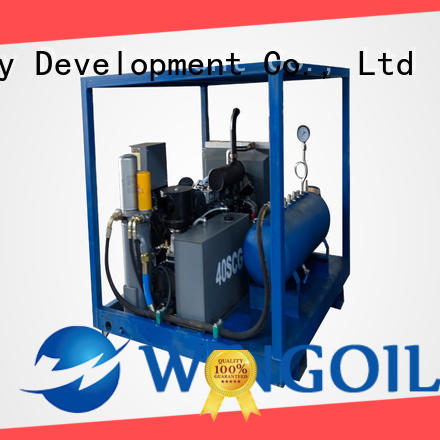 Wingoil Top hydrostatic test machine Supply For Oil Industry