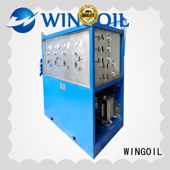 high pressure duct pressure testing equipment for onshore