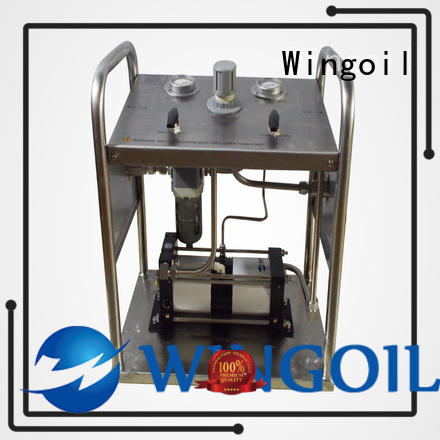 Safety electric hydrostatic test pump in high-pressure For Oil Industry