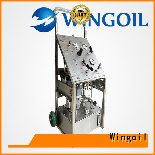 Wingoil High-quality hydro pressure test procedure for business For Oil Industry
