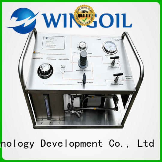 Wingoil hydraulic test pump Supply for offshore