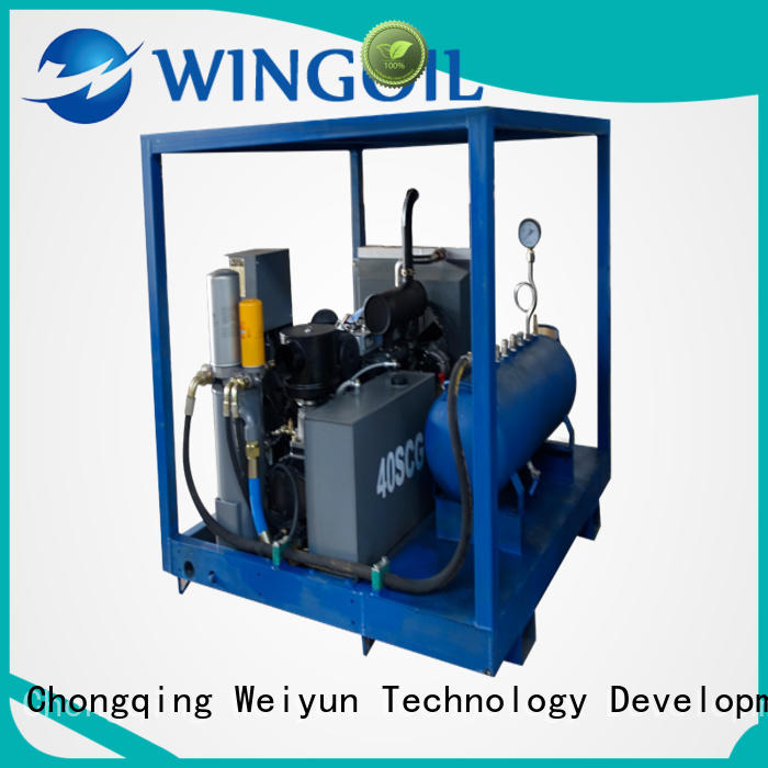 Wingoil Best hydro testing machine For Oil Industry