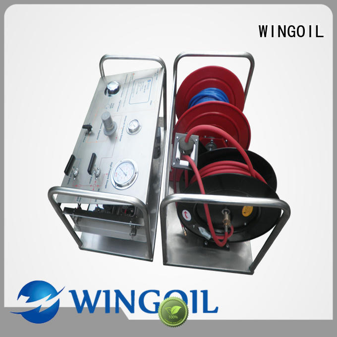 Wingoil hydrostatic hand pump factory For Gas Industry