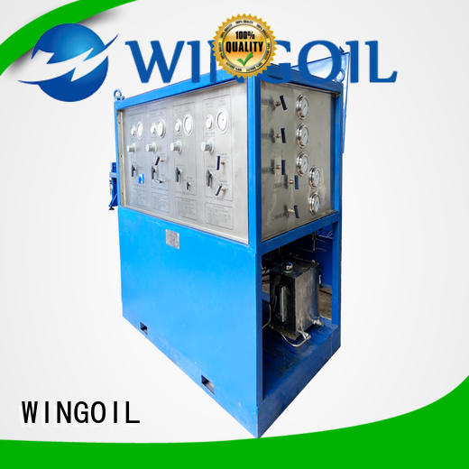 Wingoil high pressure impact test equipment for business for offshore