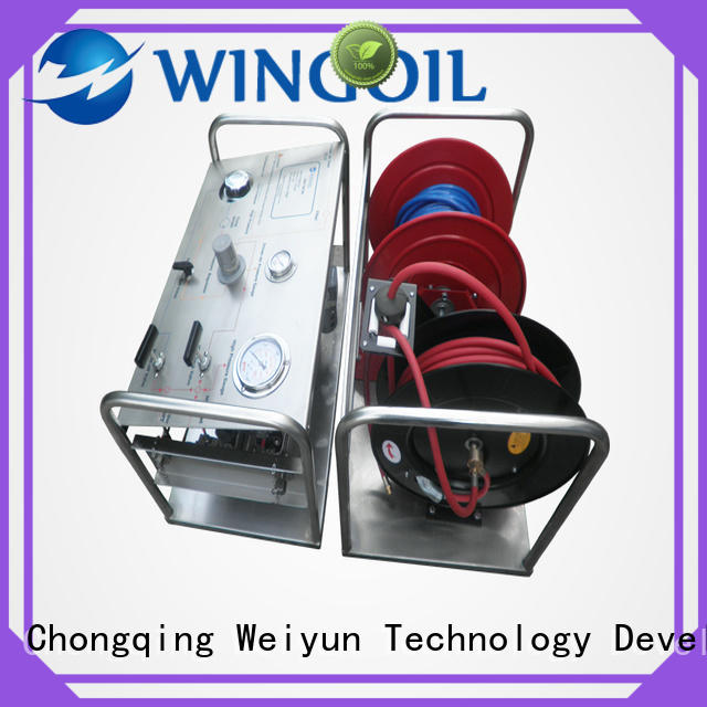 Safety hydrostatic pressure test pump widely used for offshore
