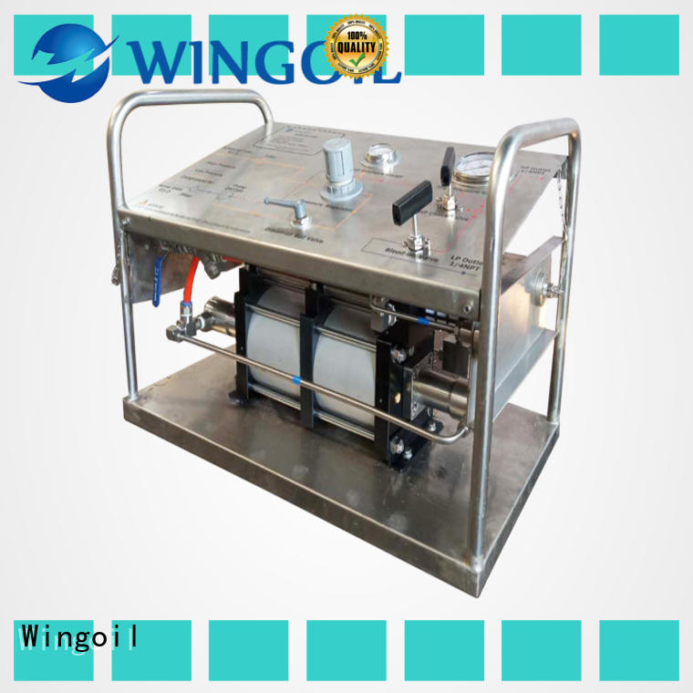 Wingoil what is hydrostatic testing factory For Oil Industry