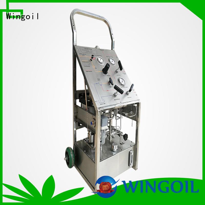 Wingoil Best hydrostatic testing standards factory for onshore