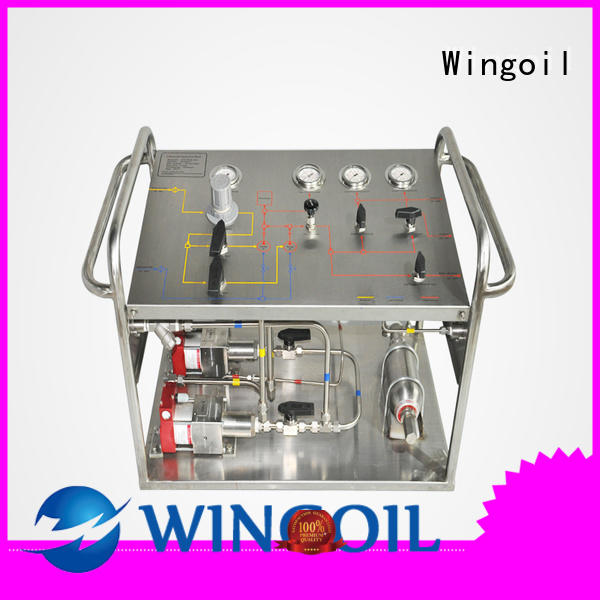 Wingoil metered pumps chemical widely used For Gas Industry