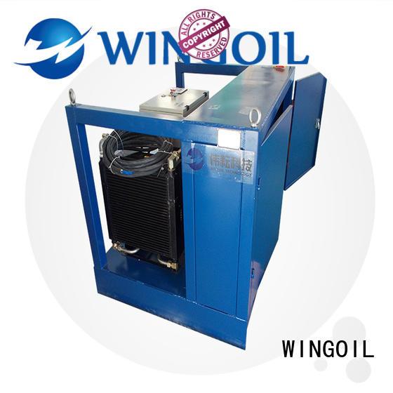 popular water line pressure testing equipment For Oil Industry