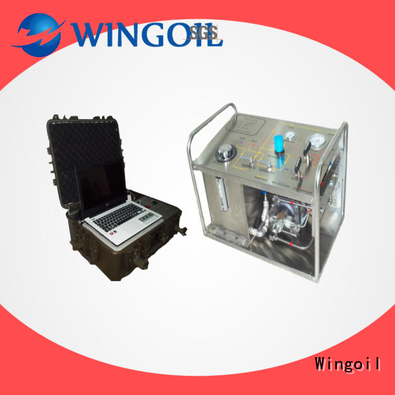 Wingoil hydraulic pressure test procedure infinitely for offshore