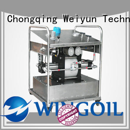 Wingoil corrosion inhibitor injection system infinitely for onshore