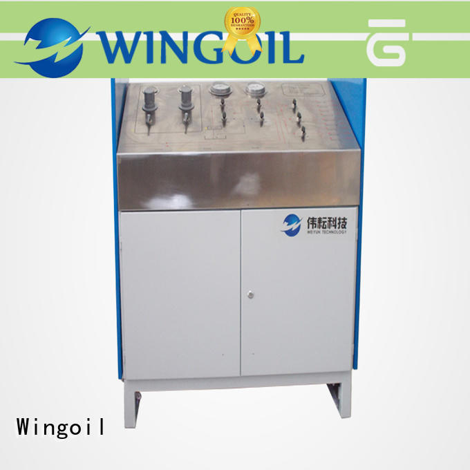 Wingoil pipe pressure tester Supply for offshore