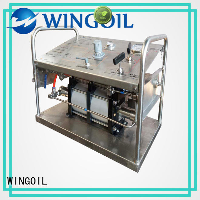 Wingoil Top hydrotest pumps & systems factory for offshore