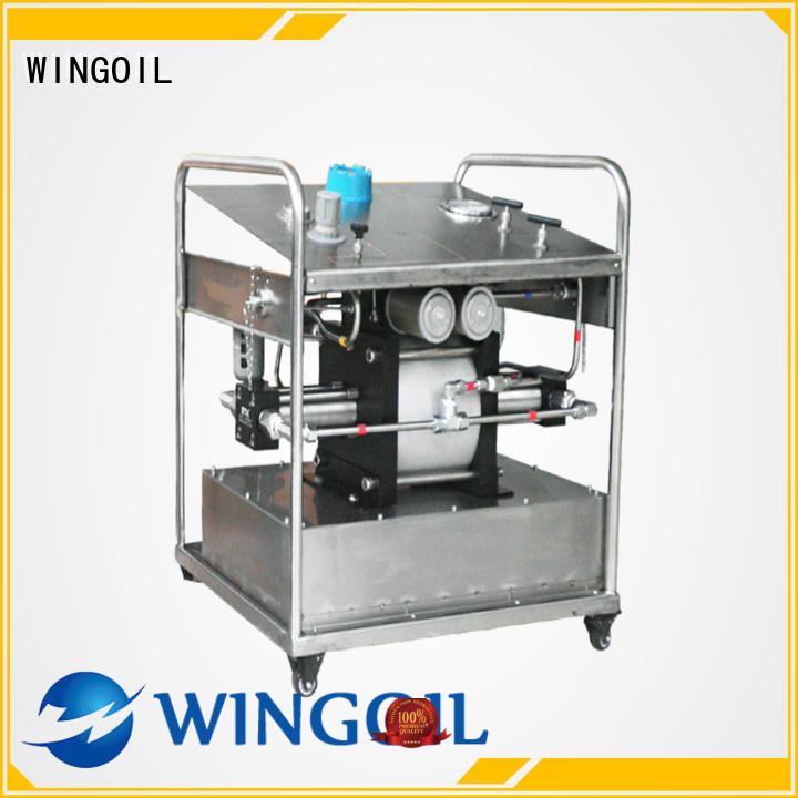 Wingoil Safety corrosion inhibitor injection system widely used for offshore