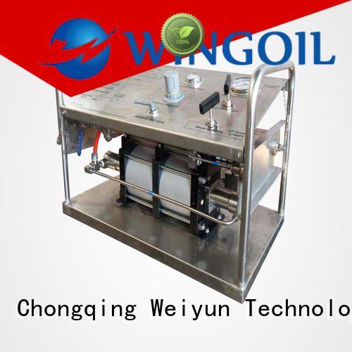Wingoil hand pump for hydro test Supply for offshore