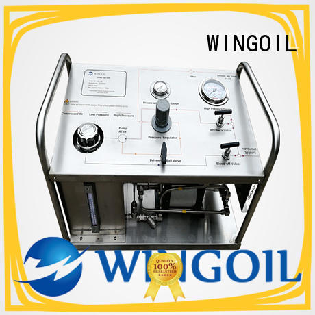 Wingoil electric hydrostatic test pump With unrivaled expertise for onshore