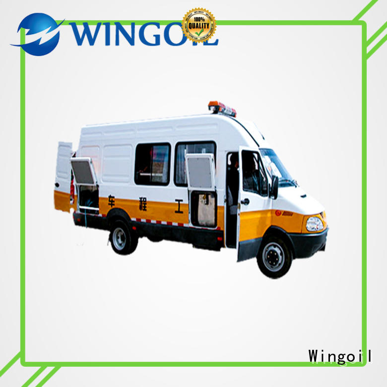 Wingoil high pressure pressure truck infinitely For Oil Industry