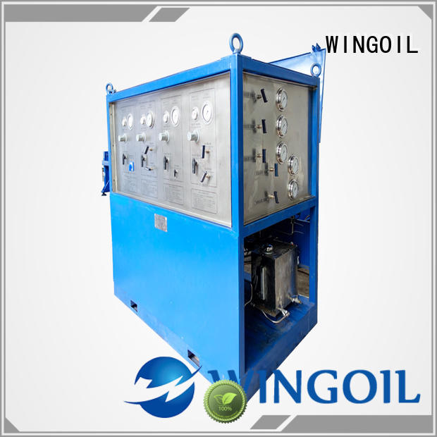Wingoil high pressure hose pressure testing equipment infinitely For Gas Industry