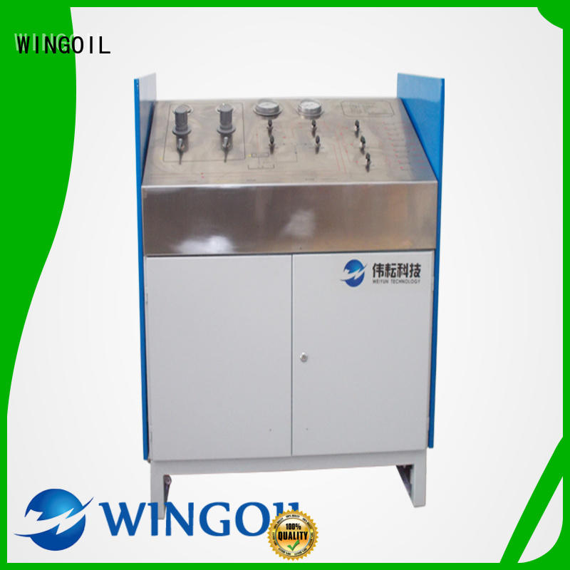 Wingoil what is high pressure factory for onshore