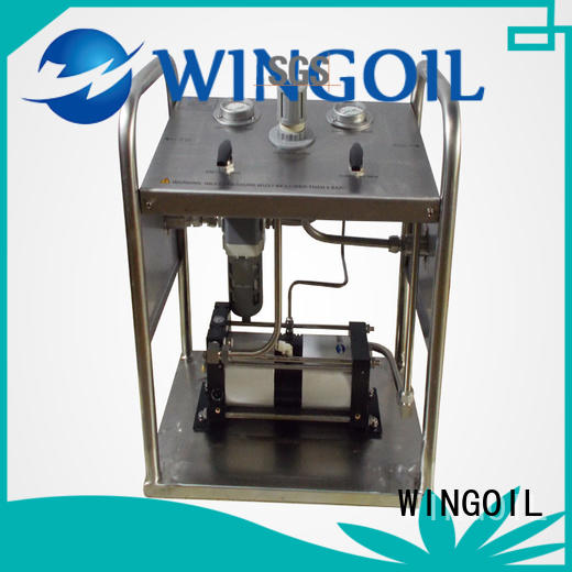 high pressure hydrostatic water test pump widely used for onshore