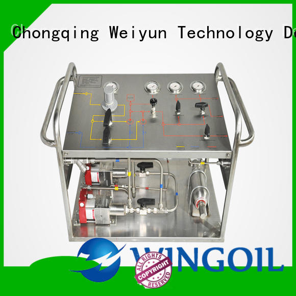 injection system For Gas Industry
