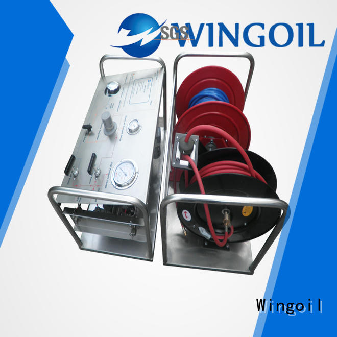 Wingoil hydrotest pumps & systems Supply For Gas Industry