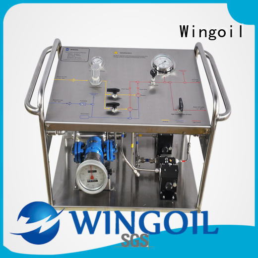 Wingoil baker test pump With unrivaled expertise for onshore