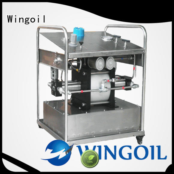 Wingoil Custom electric test pump With unrivaled expertise For Oil Industry