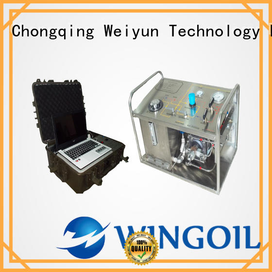 Wingoil hydrostatic water test pump With unrivaled expertise For Gas Industry