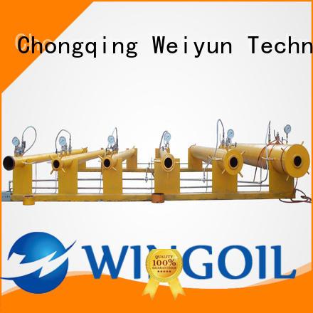 Wingoil high pressure hose testing equipment infinitely for onshore