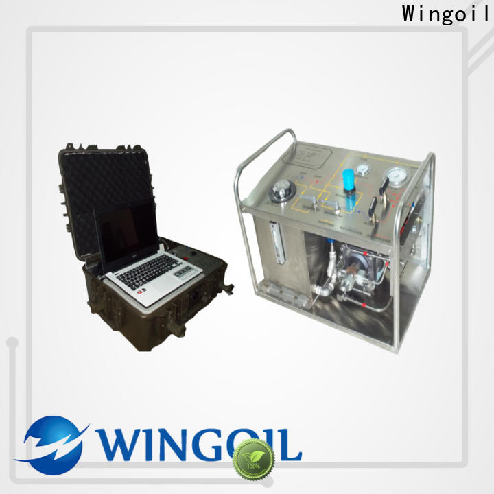 Wingoil hydro test pump manufacturers company For Oil Industry