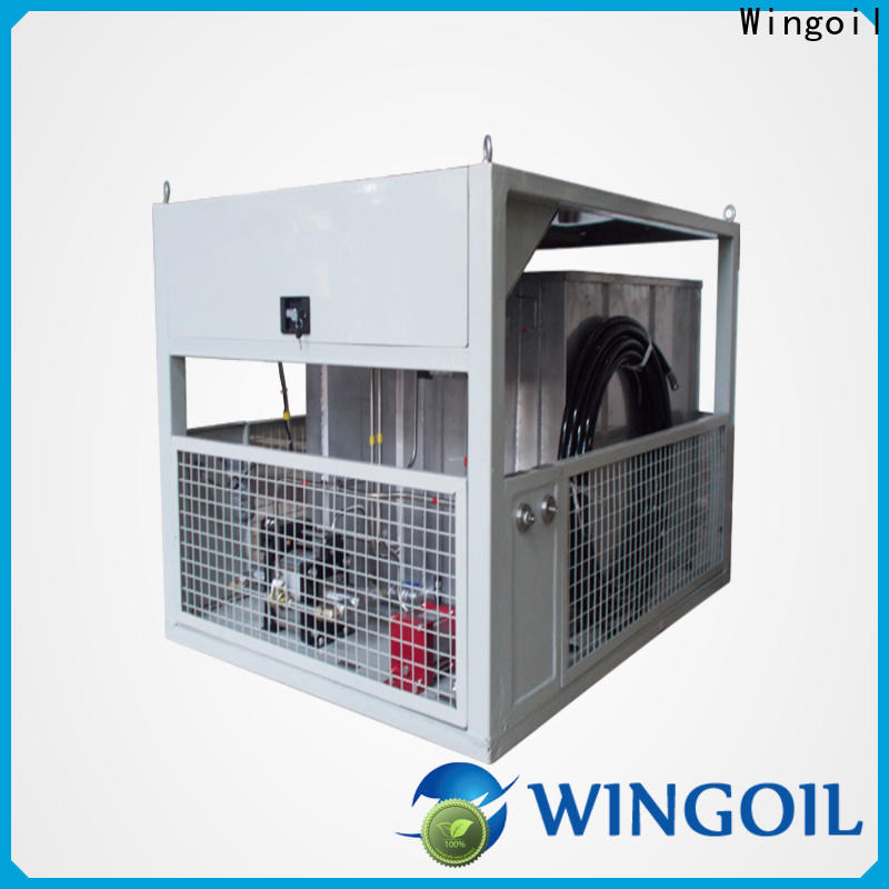 Wingoil Latest test pressure vs design pressure factory For Oil Industry