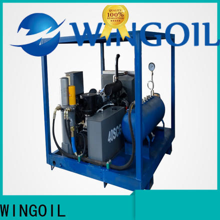 Wingoil New how to do a pressure test Suppliers for onshore